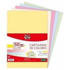 CARTULINAS GRAFOPLAS A4 COLORES 50