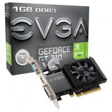 VGA  PCI-EX NVIDIA  EVGA GT710 1GB DDR3 HDMI/DVI/VGA