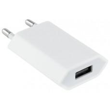 CARGADOR MINI USB 5V/1A BLANCO NANOCABLE (Espera 4 dias)