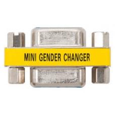 Nanocable - Adaptador VGA a VGA - conexion HDB15/H a