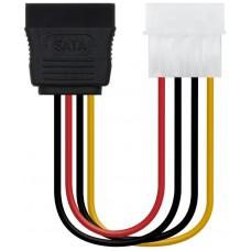 Nanocable - Cable alimentacion Molex a SATA