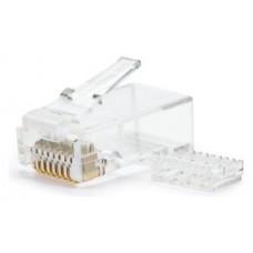 Nanocable - Bolsa 10 conectores RJ45 CAT.6 con guia