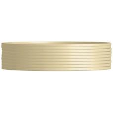 Nanocable Cable de teléfono 4C, Beige, 100m
