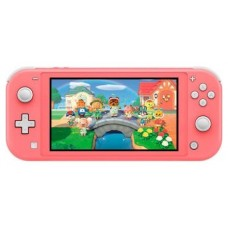 CONSOLA NINTENDO SWITCH LITE CORAL + ANIMAL CROSSI (Espera 4 dias)