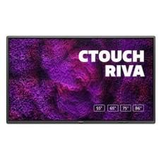 "CTOUCH Riva 189,3 cm (74.5"") 3840 x 2160 Pixeles Multi-touch Negro (Espera 4 dias)"