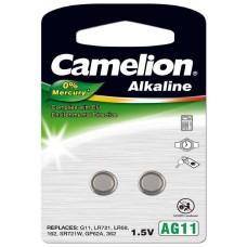 Pila Botón Alcalina LR58 1.5V 0% Mercurio (2 pcs) Camelion (Espera 2 dias)