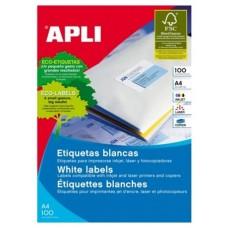 ETIQUETAS APLI A4 210X297MM