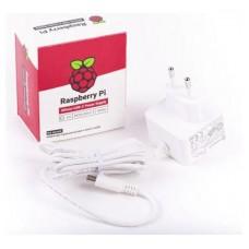 CARGADOR RASPBERRY 5.1V MICRO USB-C 3A BLANCO (Espera 4 dias)