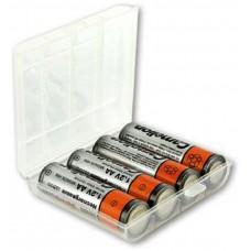 Portapilas Plástico 4 Pilas AAA/R03/Micro o AA/R06 (Espera 2 dias)