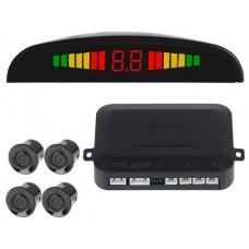 Sensor Aparcamiento (4 sensores+Display LED+Alarma Sonora) (Espera 2 dias)