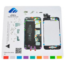 Alfombrilla Magnética Despiece Iphone 5/5C/5S (Espera 2 dias)