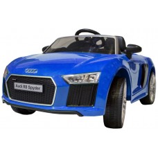 Coche Infantil Eléctrico Audi R8 Spyder Azul (Espera 2 dias)