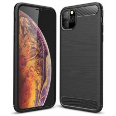 """Funda iPhone 11 Pro Max 6.5"""" Fibra Carbono Negro (Espera 2 dias)"""
