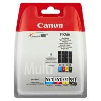 MULTIPACK 4 CARTUCHOS TINTA CLI-551BK/C/M/Y (Espera 4 dias)