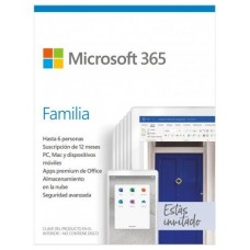 MICROSOFT OEM MICROSOFT 365 FAMILIA PKC 1