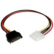 Cable adaptador SATA 15 Pines a Molex 4 Pines (Espera 2 dias)