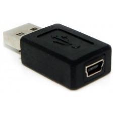 Adaptador USB a Mini USB M/H (Espera 2 dias)