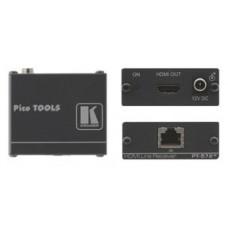 Kramer Electronics PT-572+ extensor audio/video Receptor AV Negro (Espera 4 dias)