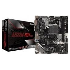 Asrock A320M-HDV R4.0 Zócalo AM4 Micro ATX AMD A320 (Espera 4 dias)