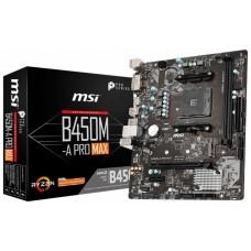 PB AMD SAM4 MSI B450M-A PRO MAX 2DDR4/HDMI/VGA/MATX