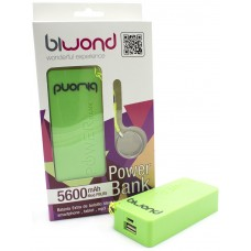 Power Bank 5600mAh Blanco (Espera 2 dias)