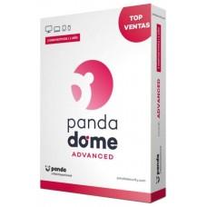 SOFTWARE ANTIVIRUS PANDA  DOME ADVANCED 2 LICENCIAS 1