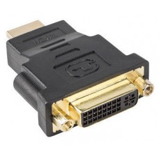 ADAPTADOR LANBERG HDMI MACHO/DVI-D HEMBRA 24+5 SINGLE LINK