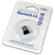 ADAPTADOR COOLBOX BLUETOOTH BT4.0 USB2.0 MINI (Espera 4 dias)