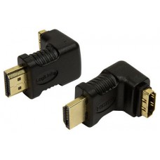 ADAPTADOR HDMI LOGILINK M-H ANGULO 90º