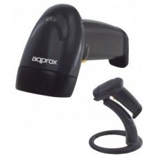 LECTOR LASER APPROX APPLS00+ NEGRO USB (Espera 4 dias)