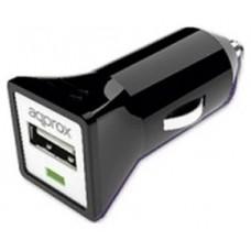 CARGADOR APPROX PARA COCHE A USB 5V/1A COLOR NEGRO