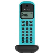 TELEFONO INALAMBRICO ALCATEL D285 NEGRO/TURQUESA (Espera 4 dias)