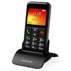 TELEFONO MOVIL SWISSVOICE B24 MOBILE BLACK EU