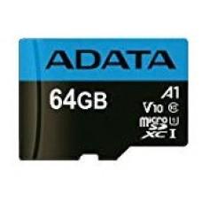 ADATA 64GB, microSDHC, Class 10 memoria flash Clase 10 UHS-I (Espera 4 dias)