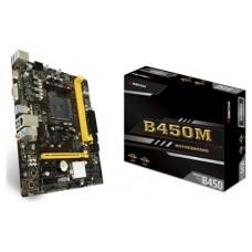 Biostar Placa Base B450MH mATX AM4