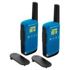 MOTOROLA T42 Walkie Talkie 4Km 16CH Azul Duo