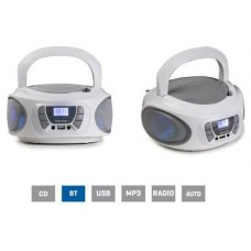 Radio CD USB BOOM-ONE-B Fonestar Blanco (Espera 2 dias)