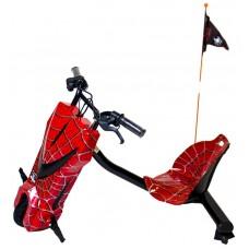 Scooter Boogie Drift Pro Gel Bluetooth 15km/h 3 Veloc. + Llave Spiderman (Espera 2 dias)