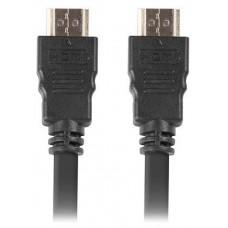 CABLE HDMI LANBERG MACHO/MACHO V1.4 ALTA VELOCIDAD 0.5M NEGRO