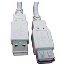 CABLE ALARGADOR USB 2.0 1.8 MTS CAB-SB-1200 (Espera 5 dias)