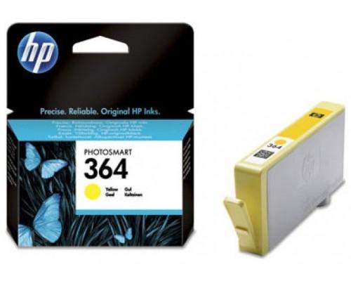 HP 364 CARTUCHO DE TINTA HP364 AMARILLO (CB320EE) (Espera 4 dias)