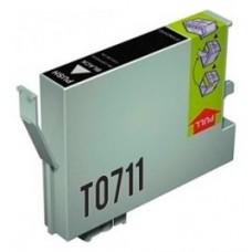 CARTUCHO GENERICO COMP. EPSON T0711 NEGRO T0711 (Espera 4 dias)