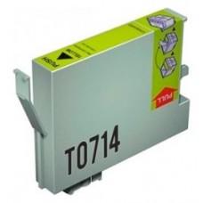 CARTUCHO GENERICO COMP. EPSON T0714 AMARILLO T0714 (Espera 4 dias)