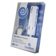 HUB USB COOLBOX  4 USB 1 USB3.0 2 USB2.0 COO-H413