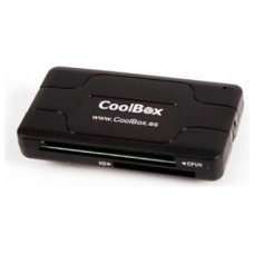 LECTOR TARJETA MEMORIA EXTERNO CRE-050 COOLBOX USB2.0