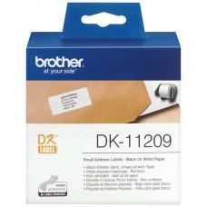ETIQUETAS BROTHER DK11209 DIRECCION PEQUEÑA 62X29 (Espera 4 dias)