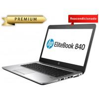 "PORTATIL HP ECOREFURB 840 G1 I7-4 GEN 8GB 240SSD 14"" W10P ECOBOX CON MALETIN"