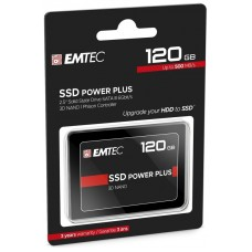 DISCO DURO SSD 120GB POWER PLUS X150 EMTEC (500MB/s