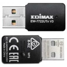 ADAPTADOR RED EDIMAX EW-7722UTNV3 USB2.0 (Espera 4 dias)