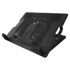 """EWENT EW1258 Soporte Ventilador Portatil 17""""+2 USB"""